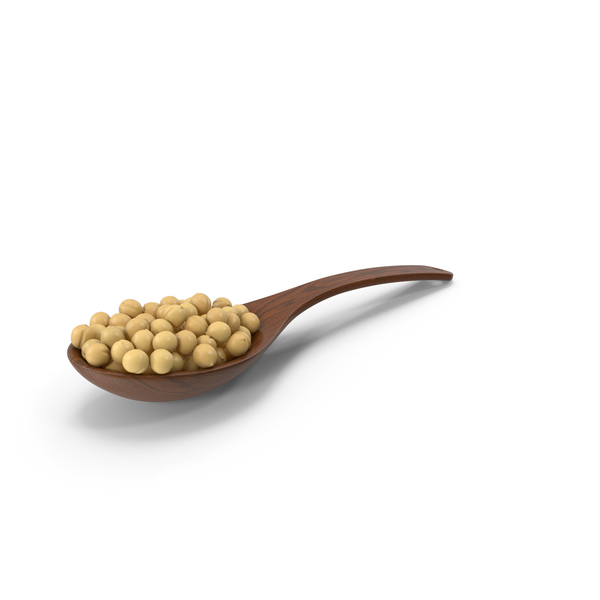 Wooden: Wood Spoon With Pea PNG & PSD Images