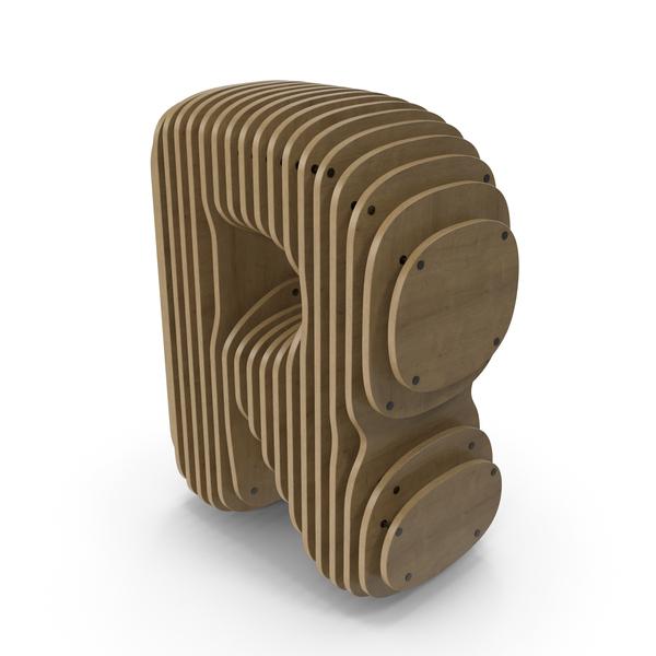 Wood symbol R PNG & PSD Images