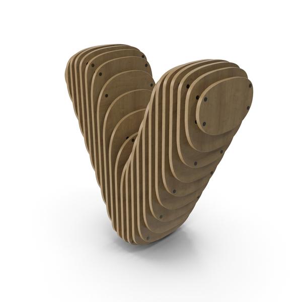 Wood Symbol V PNG & PSD Images
