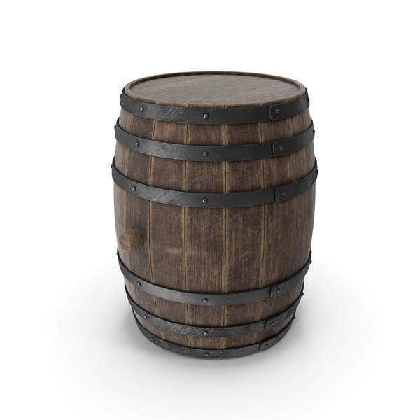 Wooden Barrel Old PNG & PSD Images
