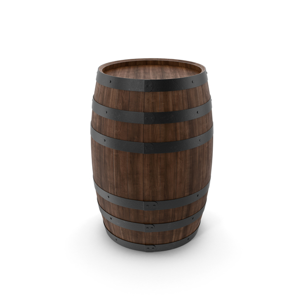 Wine: Wooden Barrel PNG & PSD Images