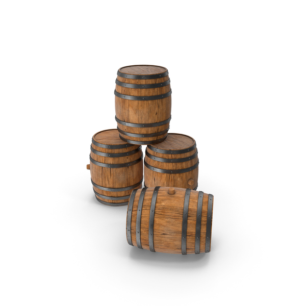 Wooden Barrels Ship Hull PNG & PSD Images