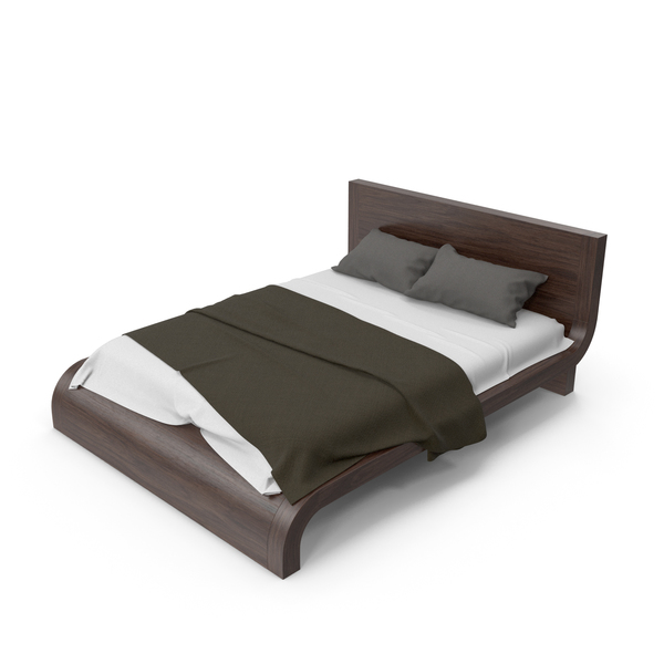 Wooden Bed PNG & PSD Images