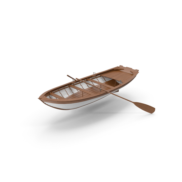 Wooden Boat PNG & PSD Images