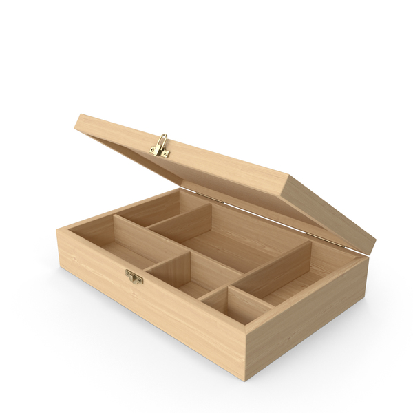 Wooden Box Object