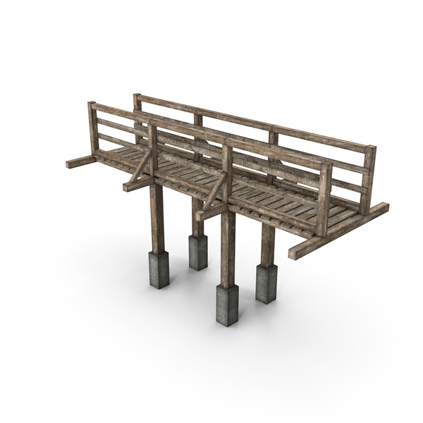 Wooden Bridge PNG & PSD Images
