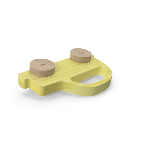 Wooden Car Toy Object