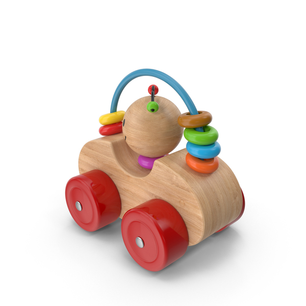 Toy: Wooden Car PNG & PSD Images