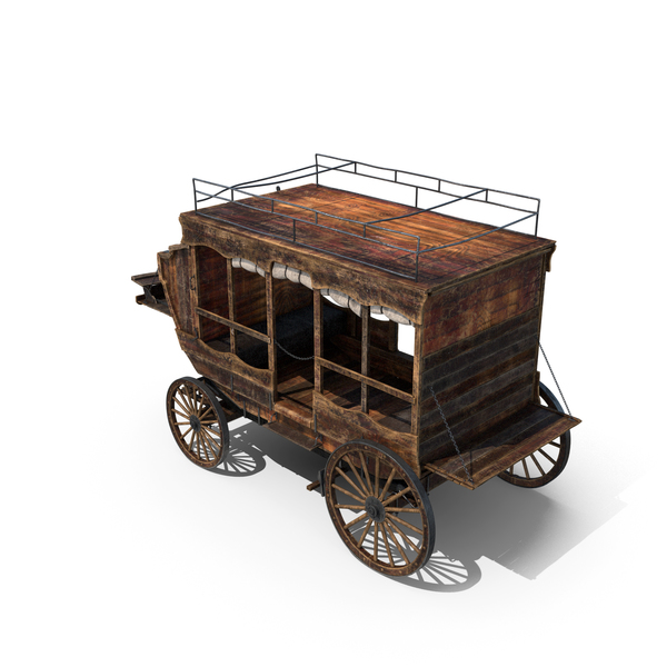 Wooden Carriage PNG & PSD Images