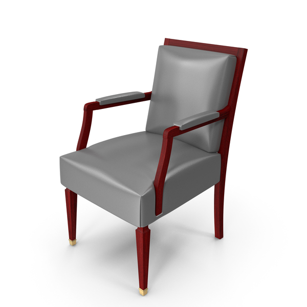 Wooden Chair with Arm PNG & PSD Images