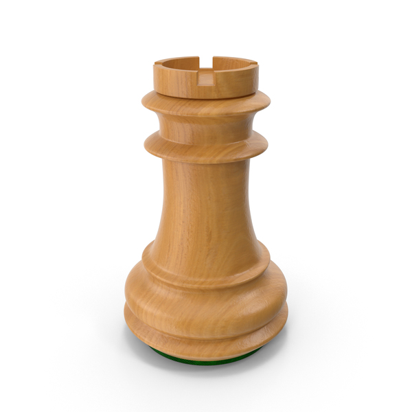 Wooden Chess Rook PNG & PSD Images