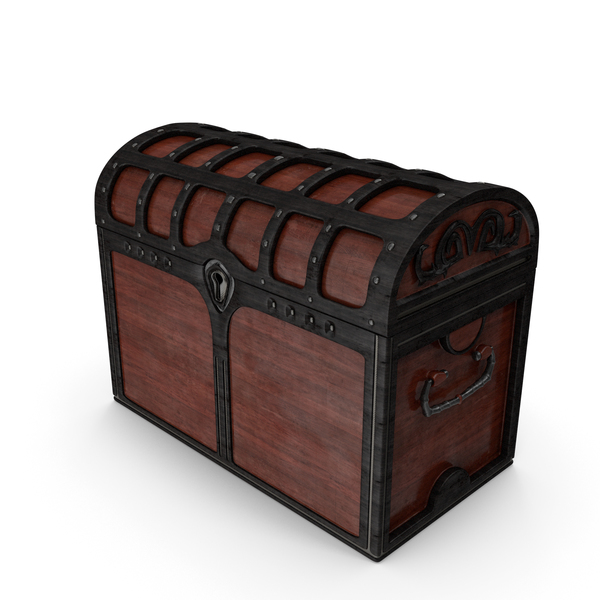 Wooden Chest Locked PNG & PSD Images