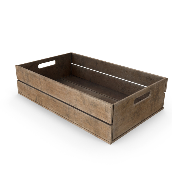 Wooden Crate PNG & PSD Images