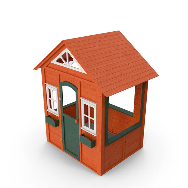 Wooden Cubby House PNG & PSD Images
