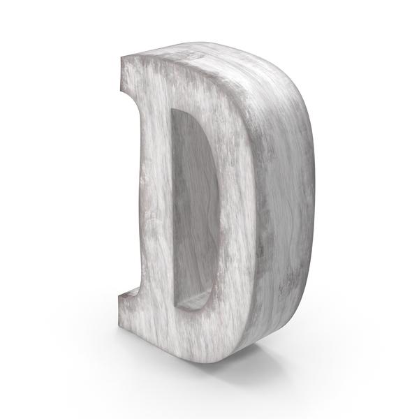 Wooden Decorative Letter D PNG & PSD Images