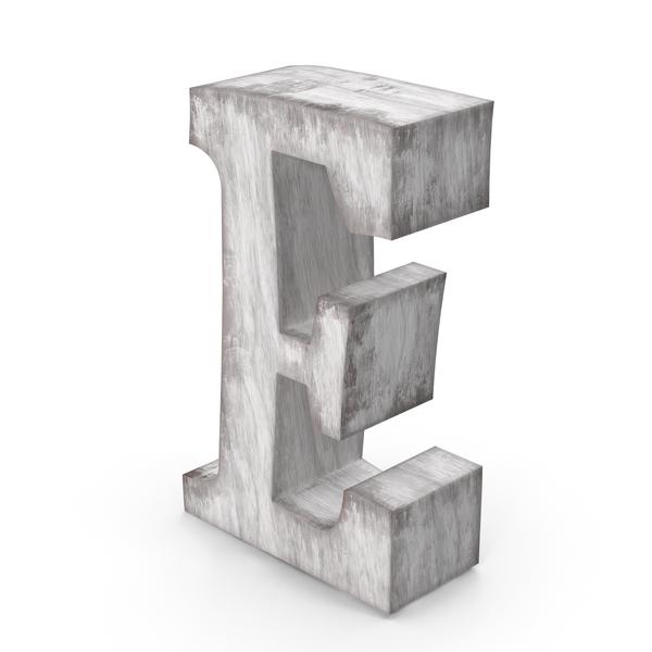 Language: Wooden Decorative Letter E PNG & PSD Images