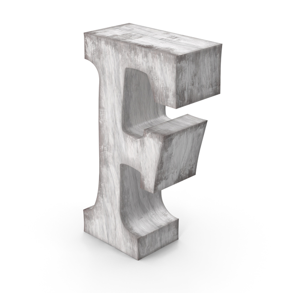 Language: Wooden Decorative Letter F PNG & PSD Images