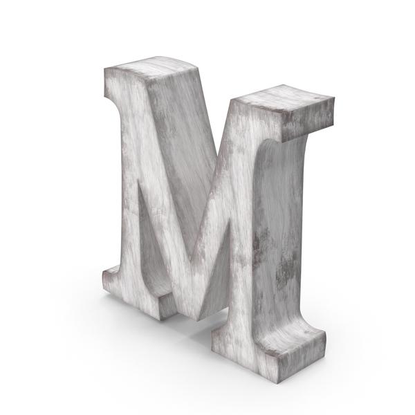 Language: Wooden Decorative Letter M PNG & PSD Images