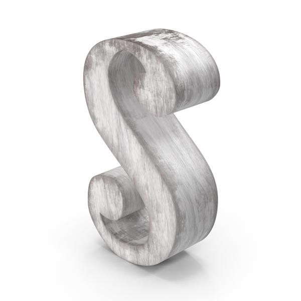 Language: Wooden Decorative Letter S PNG & PSD Images