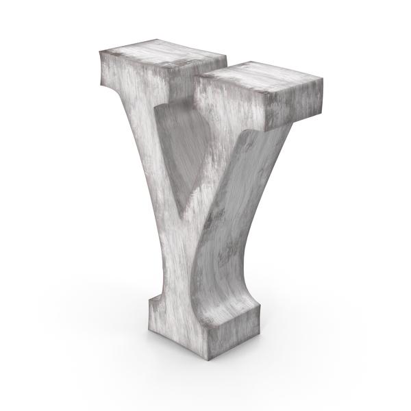 Language: Wooden Decorative Letter Y PNG & PSD Images
