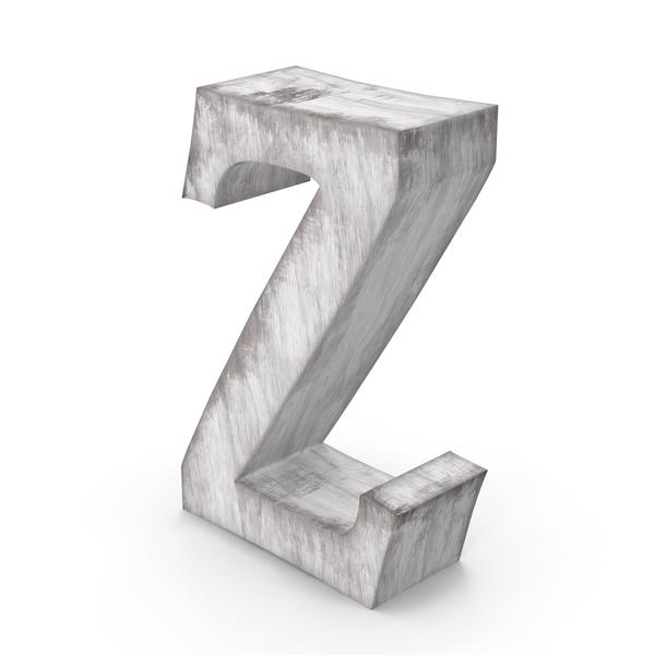 Wooden Decorative Letter Z PNG & PSD Images