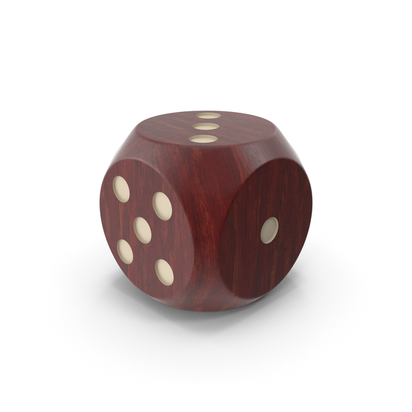 Dice: Wooden Die PNG & PSD Images