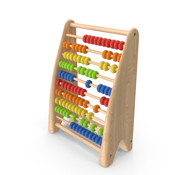 Abacus: Wooden Educational Counter PNG & PSD Images