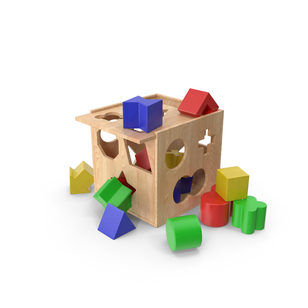 Wooden Educational Toy PNG & PSD Images