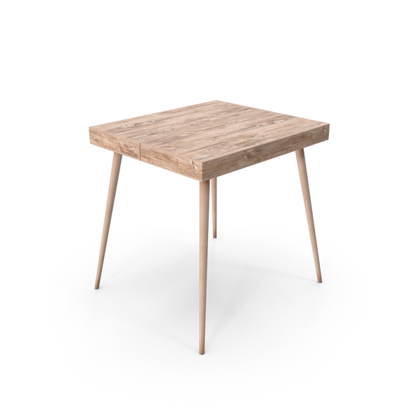 Wooden End Table PNG & PSD Images