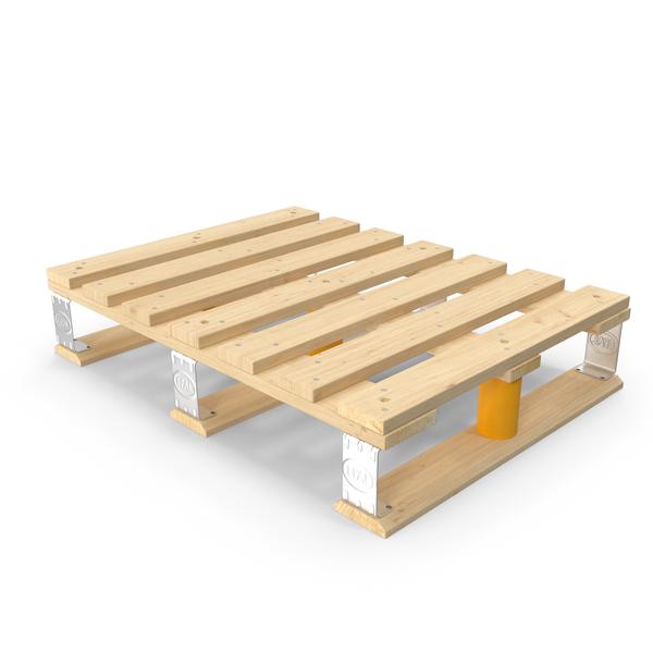 Wooden EPAL Euro Half Pallet PNG & PSD Images