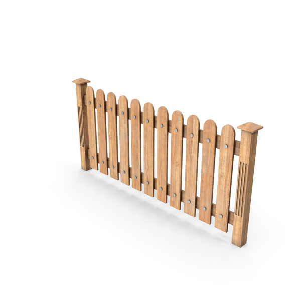 Picket: Wooden Fence PNG & PSD Images