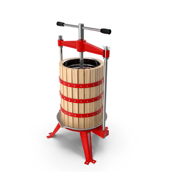 Wooden Frame Fruit Wine Cider Press PNG & PSD Images