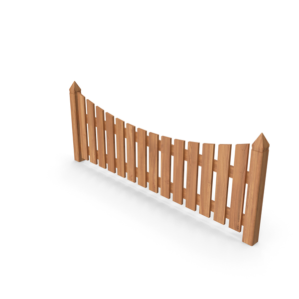 Wooden Garden Fence PNG & PSD Images