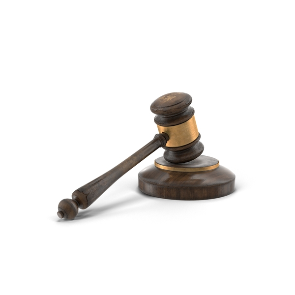 Wooden Gavel PNG & PSD Images