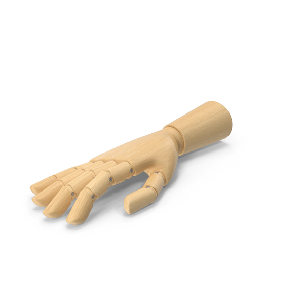 Wooden Hand Lying PNG & PSD Images