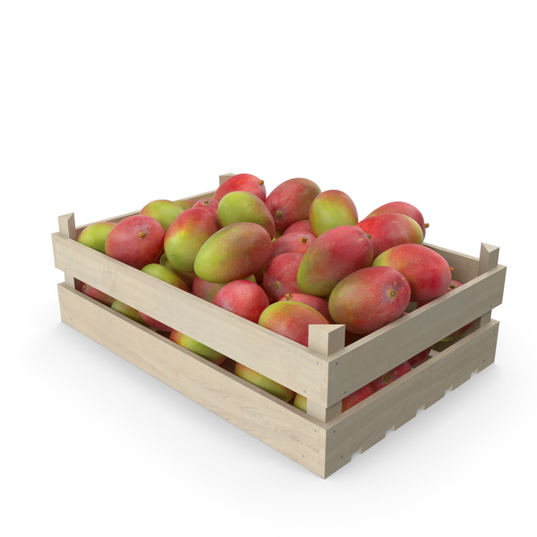 Wooden Mango Crate PNG & PSD Images