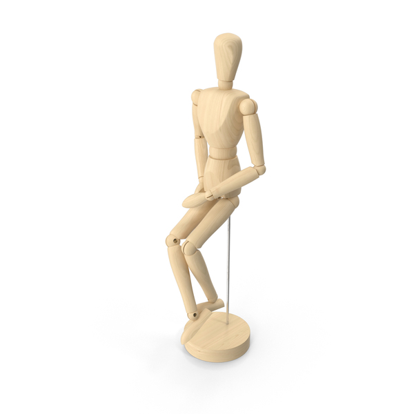 Wooden Mannequin Object
