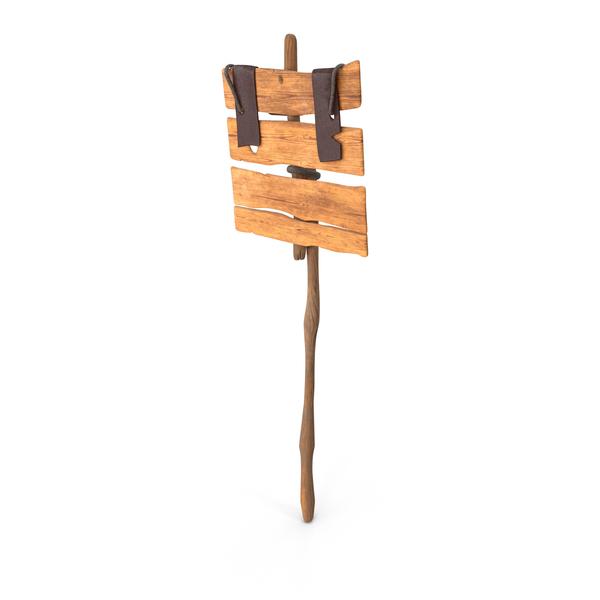 Wooden Medieval Old Sign Board PNG & PSD Images