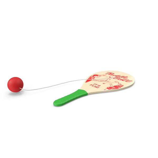 Wooden Paddle Ball PNG & PSD Images