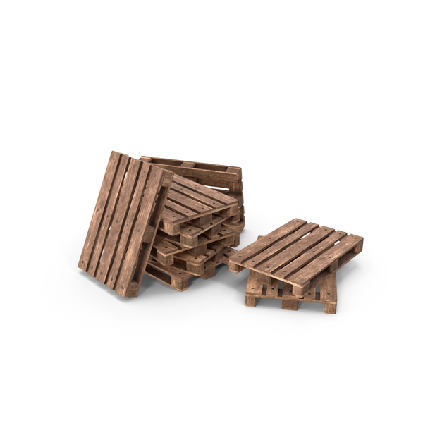 Wooden Pallets Heap PNG & PSD Images