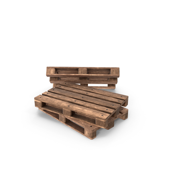 Wooden Pallets Three PNG & PSD Images