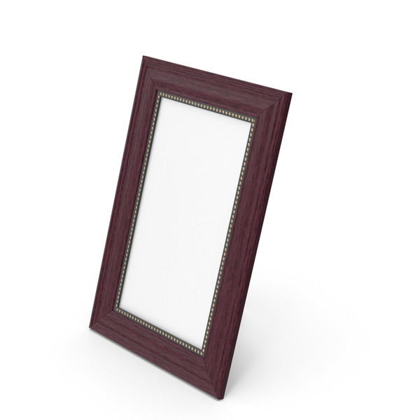 Wooden Photo Frame PNG & PSD Images