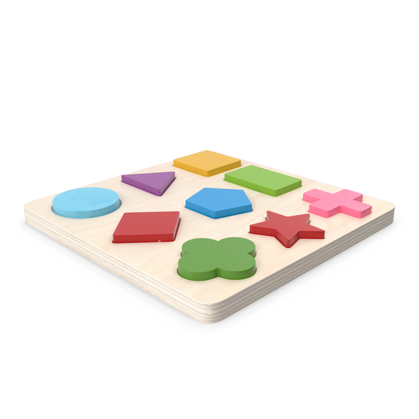 Wooden Puzzle PNG & PSD Images