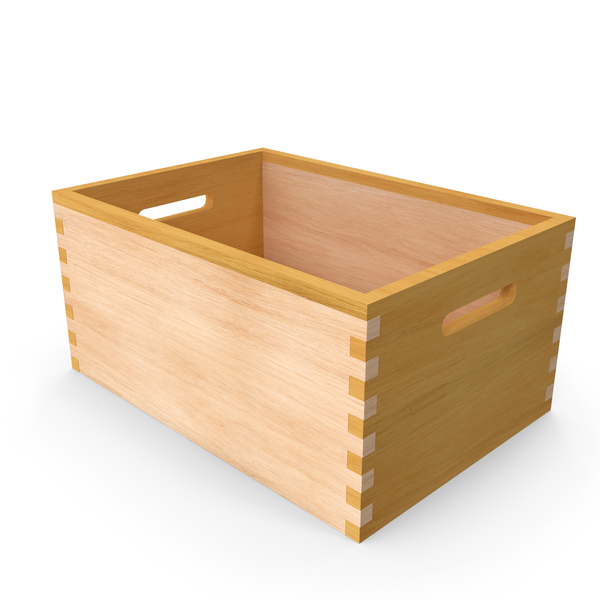 Wooden Rectangle Case PNG & PSD Images