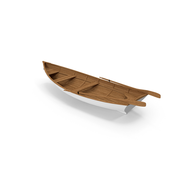Wooden Rowboat PNG & PSD Images