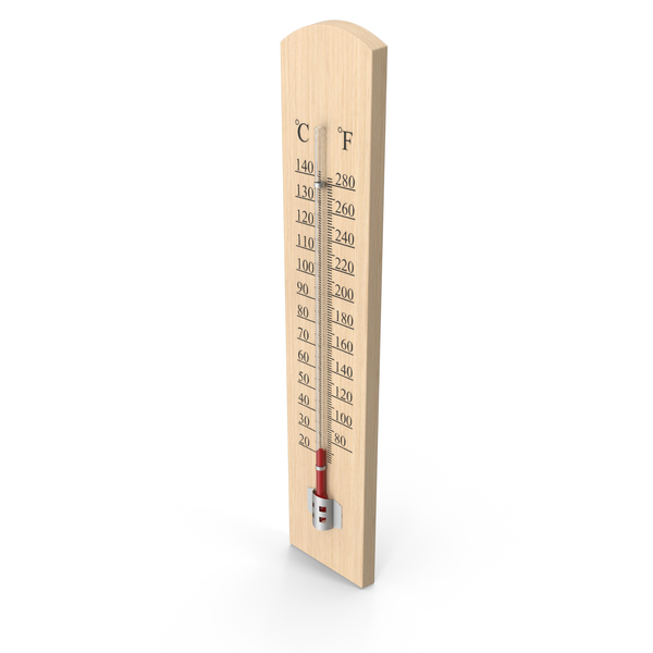 Wooden Sauna Thermometer PNG & PSD Images