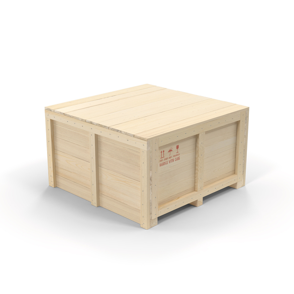 Wooden Shipping Crate PNG & PSD Images