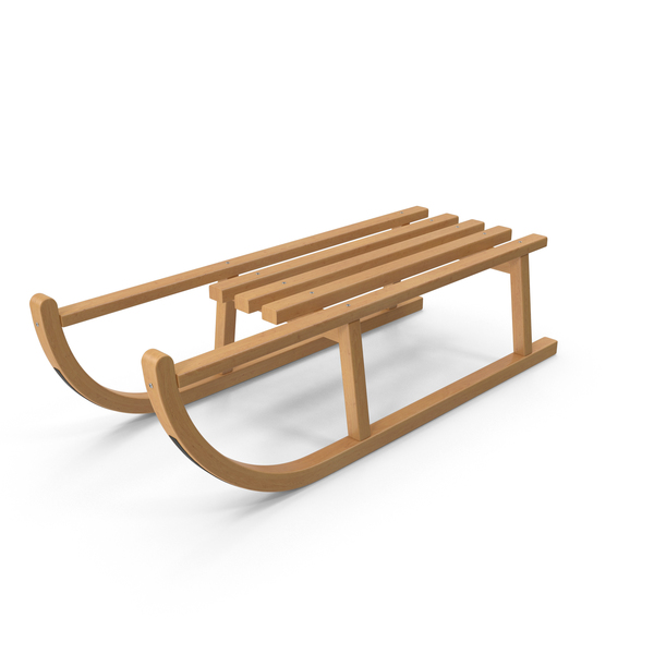 Wooden Sledge PNG & PSD Images