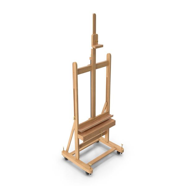 Wooden Studio Easel PNG & PSD Images