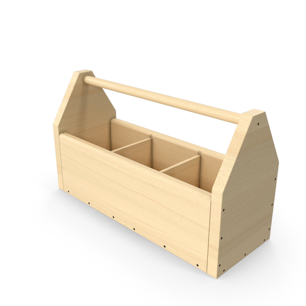 Wooden Tool Box PNG & PSD Images